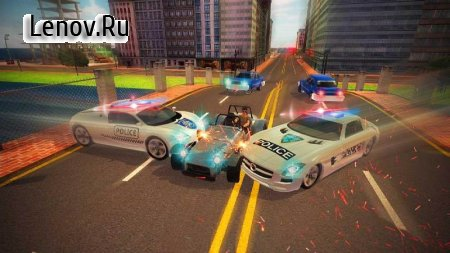RAID : Police Chase (обновлено v 1.2) (Mod Money/Unlocked)