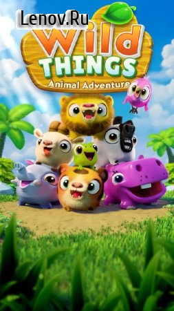 Wild Things: Animal Adventure v 0.3.106.903151320 Мод (Infinite Lives/Gold/Leaves/Boosters)