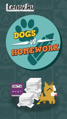 Dogs Vs Homework - Clicker Idle Game v 1.0.12 Мод (Add 50k Coins/Medals/Treats & More)