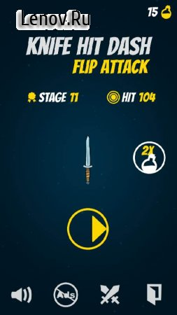 Knife Hit Planet Dash : Flip attack v 1.2 (Mod Money)