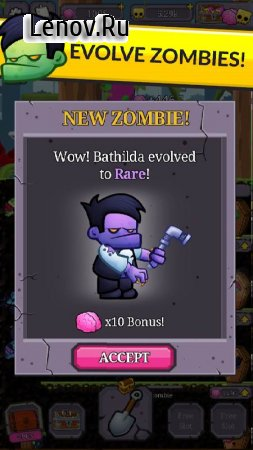 Zombie Labs: Idle Tycoon v 2.15 Мод (A LOT OF BRAINS)