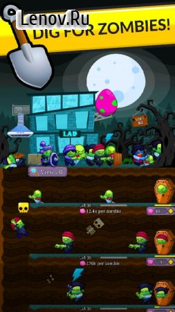 Zombie Labs: Idle Tycoon v 2.21 Мод (A LOT OF BRAINS)