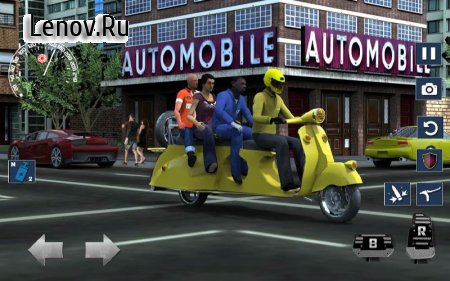 Bus Bike parking & Driving Dead Zombies Rescue 3D v 2.3 (Mod Money)