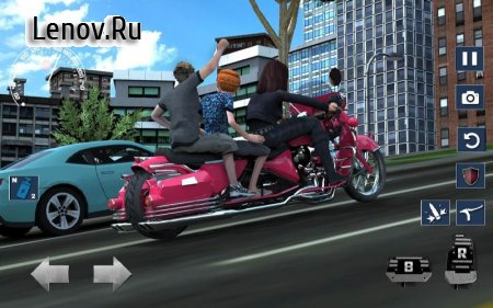 Bus Bike parking & Driving Dead Zombies Rescue 3D v 2.1 (Mod Money)