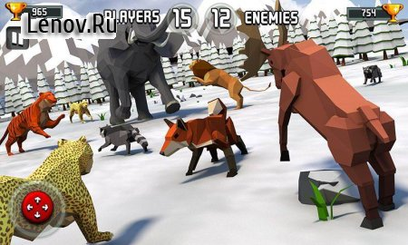 Animal Kingdom Battle Simulator 3D v 2.2 Мод (MANY GEMS)