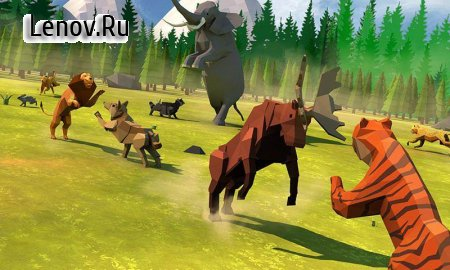 Animal Kingdom Battle Simulator 3D v 2.2 Мод (MANY GEMS)