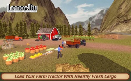 Hill Farm Truck Tractor PRO v 1.3 Мод (Unlocked/Ads-free)