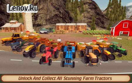 Hill Farm Truck Tractor PRO v 1.3 Мод (Unlocked/Ads-free)