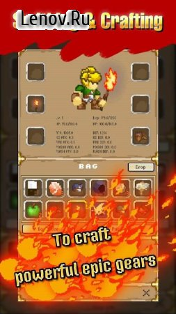 Mystery Dungeon: Roguelike RPG v 1.77 Мод (Ads-free)