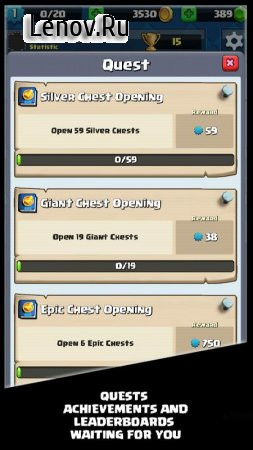 Chest Simulator for Clash Royale v 1.3.53 b85 (Mod Money)