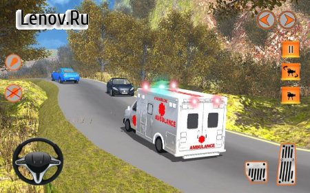 911 Ambulance Rescue Mission v 1.2 Мод (Unlimited Money/All Levels Unlocked)