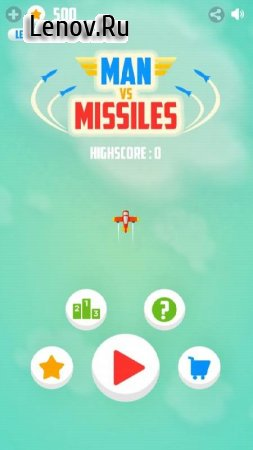 Man Vs. Missiles v 3.6 (Mod Money)