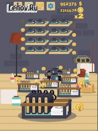 Bitcoin mining simulator v 0.10.3 (Mod Money)
