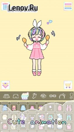 Pastel Girl v 2.3.5 Мод (Free Shopping)
