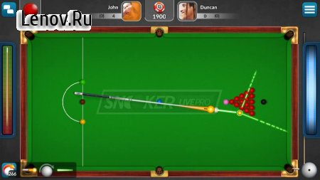 Snooker Live Pro & Six-red v 2.6.5 Мод (Long Line/Free Shop)