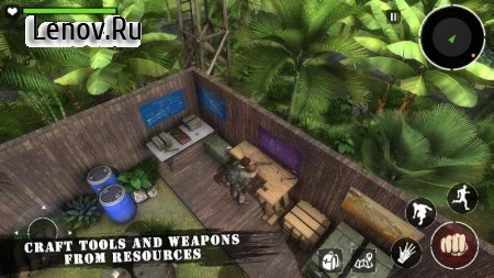 Amazon Jungle Sniper : Survival Game v 1.1 Мод (Not hungry/thirsty)