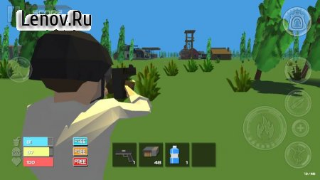 Survivor Unknow Battle Island v 20.0.1 Мод (Unlimited Bullets)