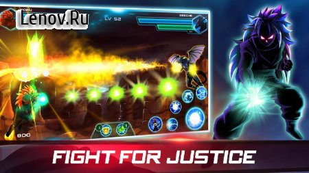 Dragon Fight Shadow: Super Hero Battle Of Warriors v 1.9 (Mod Money)