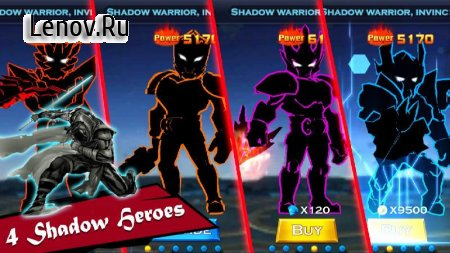 Shadow Revenge 2 – Super Battle v 1.5 (Mod Money)