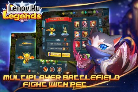 Dragon Legends (Dreamsky) v 1.2.3 Мод (5k Stats)
