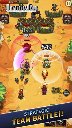 Wonder Knights VIP : Retro Shooter RPG v 2.1.6 Мод (Infinite Gems/Endless Gold)
