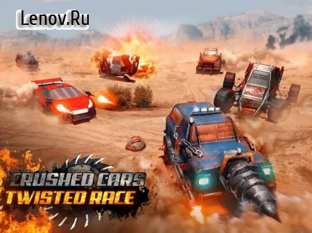 Crushed Cars 3D - Twisted Racing & Death Battle v 1.9 (Mod Money)