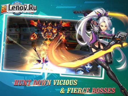 Blade & Wings: Fantasy 3D Anime MMO Action RPG v 1.8.9.1809101444.18 Мод (5x Atk & Def)