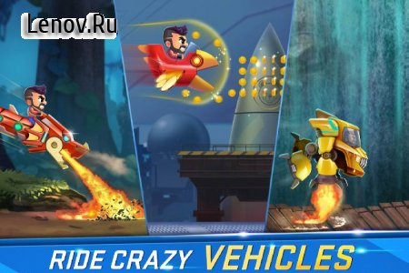 Jetpack Joyride - India Exclusive (Official) v 11.10130 Мод (много денег)