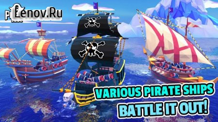 Pirate Code - PVP Battles at Sea v 0.7.7 Мод (UNLIMITED SPEED UP/TORPEDO)
