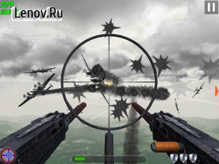 Tail Gun Charlie v 1.4.13 Мод (modified to be an invincible airplane)