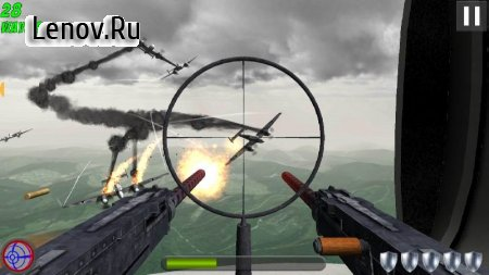 Tail Gun Charlie v 1.4.10 Мод (modified to be an invincible airplane)