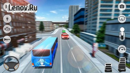 City Coach Bus Simulator 2018 v 1.1 (Mod Money)