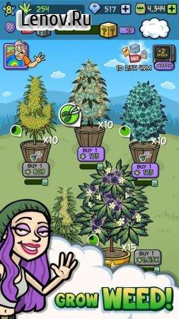 Bud Farm: Quest for Buds v 0.7.1 Мод (Cash/Gems/Gouna/PuffPuff)