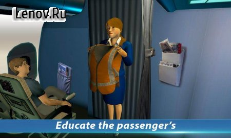 Airport Staff Flight Attendant Air Hostess Games v 1.1 Мод (Large number of stars)