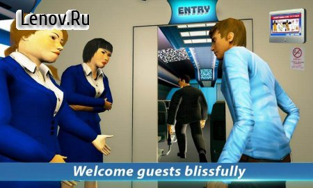 Airport Staff Flight Attendant Air Hostess Games v 1.4 Мод (Large number of stars)
