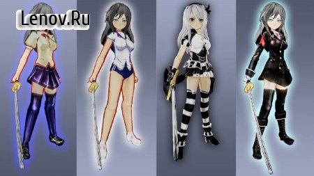 High School Girls-Anime Sword Fighting Games 2018 v 1.8 (Mod Money)