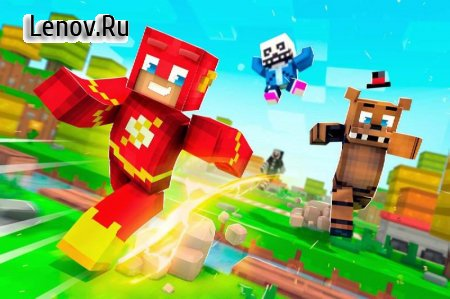 ✩ Crossy Creepers: Marvel Island Block Survival ✩ APK v 3.4.8 (Mod Money)