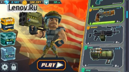 Major Mayhem 2 - Action Arcade Shooter v 1.161.2019052511 (Mod Money)