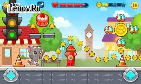 Talking Tom Candy Run v 1.4.5.259 (Mod Money)
