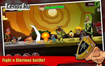 Legend vs Zombies v 4.3 Мод (Infinite diamonds/There is no advertising)