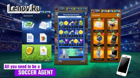 2018 Soccer Agent - Mobile Football Manager v 2.0.0 Мод (Unlimited VIP Coins/Energy & More)