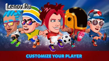 Head Soccer Russia Cup 2018: World Football League v 4.1.1 (Mod Money)