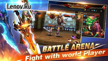 Brave Fighter 2: Monster Legion v 1.4.1 (Mod Money)
