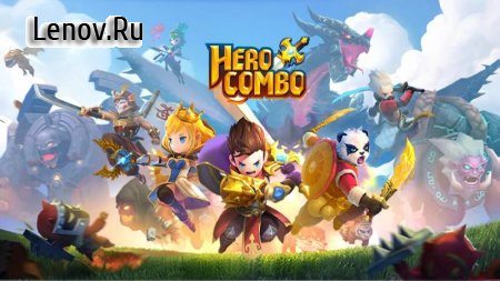 Hero Combo v 1.0.6.69947 (God Mode/Massive Attack/Defense)