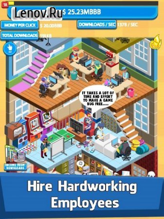 Video Game Tycoon - Idle Clicker & Tap Inc Game v 2.8.7 (Mod Money)