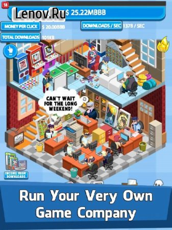 Video Game Tycoon - Idle Clicker & Tap Inc Game v 2.8 (Mod Money)