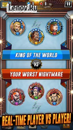 The Muscle Hustle: Slingshot Wrestling v 1.16.29302 (God Mode/1 Hit Kill/Player HP/ATK)