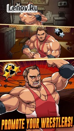 The Muscle Hustle: Slingshot Wrestling v 1.23.36629 (Enemy doesn't attack/1 Hit Kill)