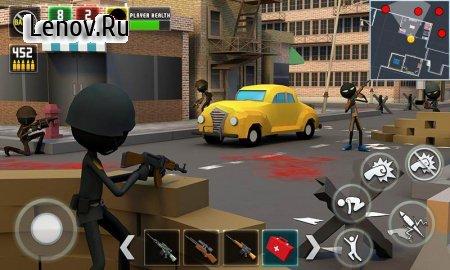 Stickman Royale : World War Battle (обновлено v 1.4) (Mod Money)