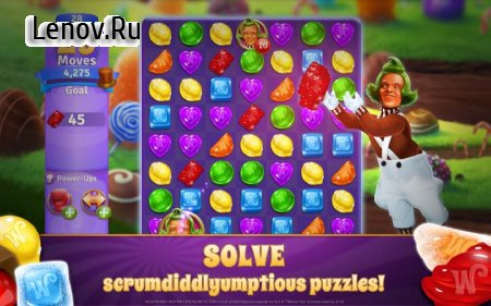 Wonka's World of Candy – Match 3 v 1.24.1815 Мод (Unlimited Lives/Boosters)
